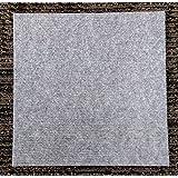 "Carpet Tiles Self Stick 12"" (144 Sq. Ft.) Color Choice (Gray)"