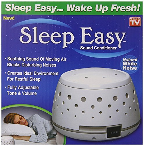 Sleep Easy Sound Conditioner Natural White Noise Machine Baby Therapy