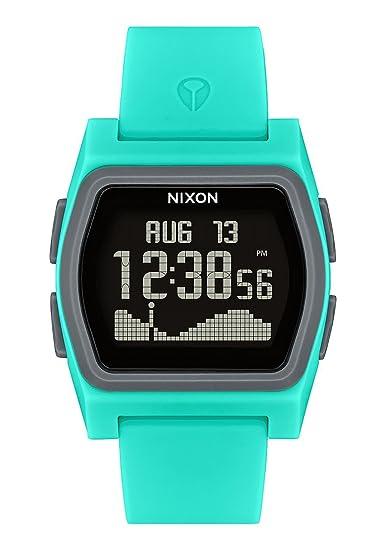 Nixon Reloj Hombre de Digital con Correa en Silicona A1236-309-00: Amazon.es: Relojes