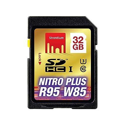 Strontium Nitro Plus SD UHS-1 (U3) Tarjeta de Memoria 32 GB ...