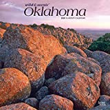 Oklahoma Wild & Scenic 2020 12 x 12 Inch Monthly Square Wall Calendar, USA United States of America Southwest State Nature