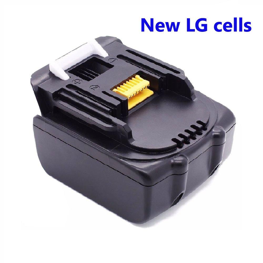 14.4V 3000mAh Remplacer Makita BL1430 BL1415 batterie d'outils électriques (100% de nouvelles cellules LG)