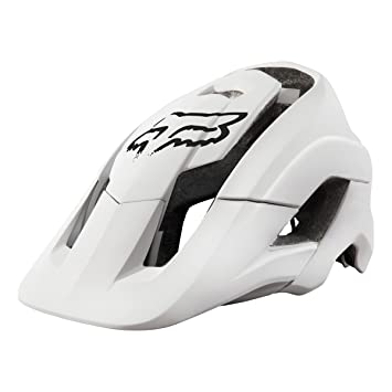 Fox Metah Solids - Casco - blanco Contorno de la cabeza 59-63 cm 2016
