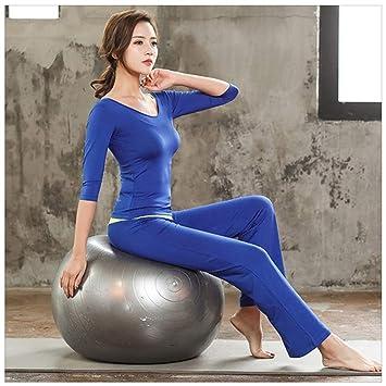 8ff7cd633f LGIZW Conjunto De Ropa De Yoga para Mujer Conjunto De Tres Piezas Ms Ropa  Deportiva Ropa ...