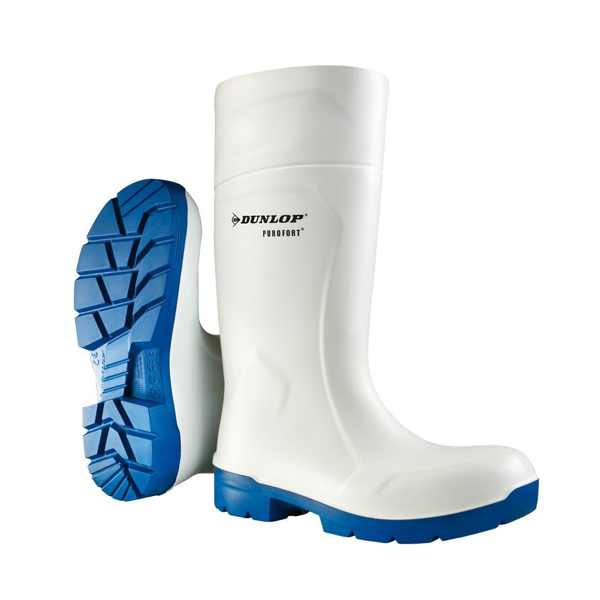Dunlop PUROFORT MultiGrip Safety weiß , Arbeitsgummistiefel