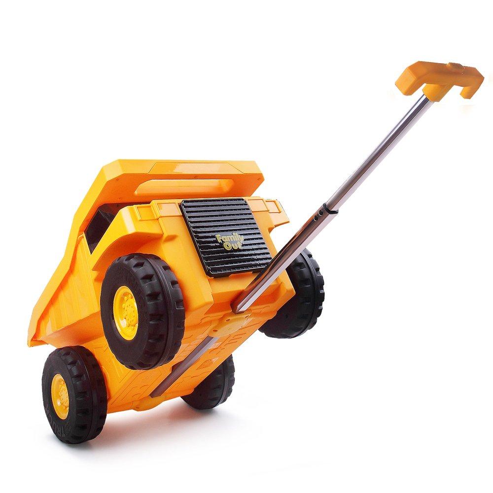PUQU 子供 キャリーバッグ スーツケース バッグ 子供キャリーケース 車型 多機能 キッズ 幼稚園 かわいい 子供&キッズ&小学生 おもちゃ箱にも兼用して使用可能 18L B01NCEXBR9 イエロー イエロー