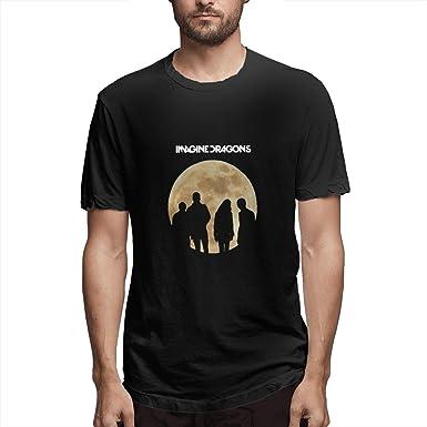 WAQL-Fashion - Camisa Negra con Manga Corta para Hombre, diseño de Dragones Negro 3XL: Amazon.es: Ropa y accesorios