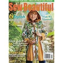 Sew Beautiful Magazine September/October 2012