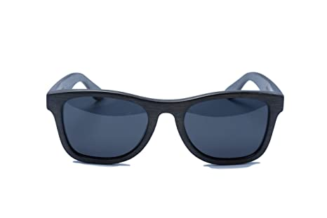 fd3fbbef73 Amazon.com: Monroe Bamboo Sunglasses (Black): Clothing