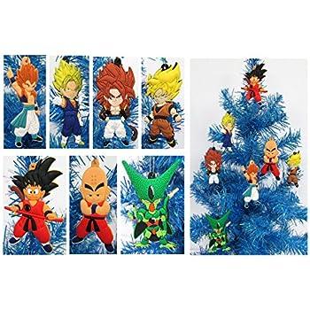 Amazon.com: Dragon Ball Z Holiday Christmas Ornament Set - Unique Shatterproof Plastic Design by ...