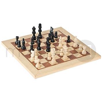 Matches21 Schachbrett Bausatz Aus Holz Kunststoff Mit Schachbrett