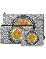 Society6 Sailor Moon - Crystal Transformation Brooch Carry-All Pouch