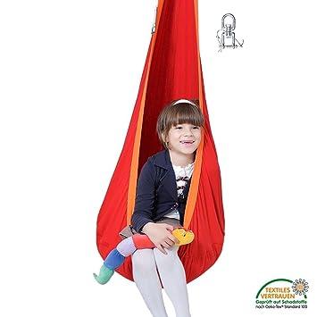 2948669b5da Lola Hängehöhle in ÖKO TEX für Kinder Loli Kids Hängesessel Kindersitz  Flamingo