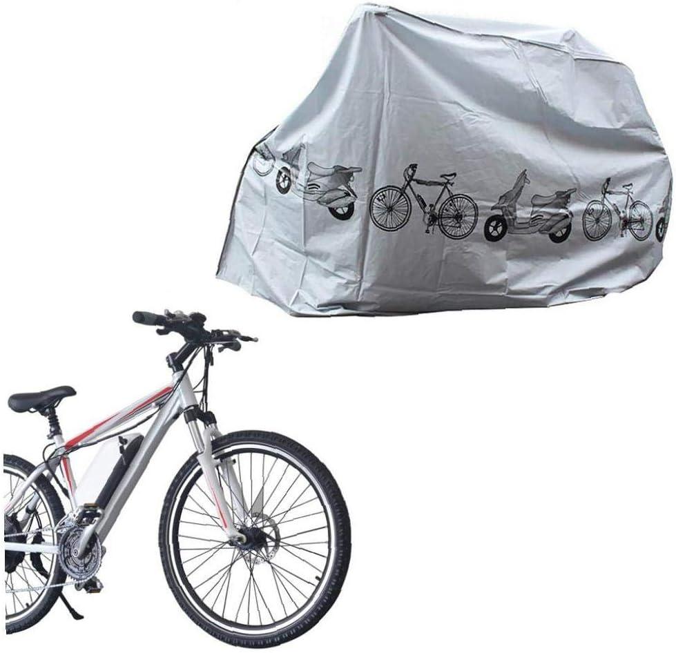 Abdeckplanen Staub Regen Indoor Outdoor UV-Schutz wasserdichte Fahrrad-Abdeckung