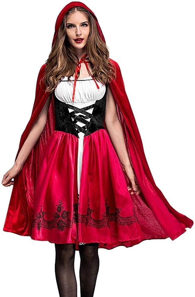 JERFER Disfraz de Halloween Mujer Cosplay Fiesta de Pelota ...