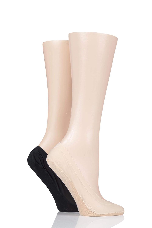 Ladies 1 Pair Elle Hansilver Antibacterial Shoe Liners