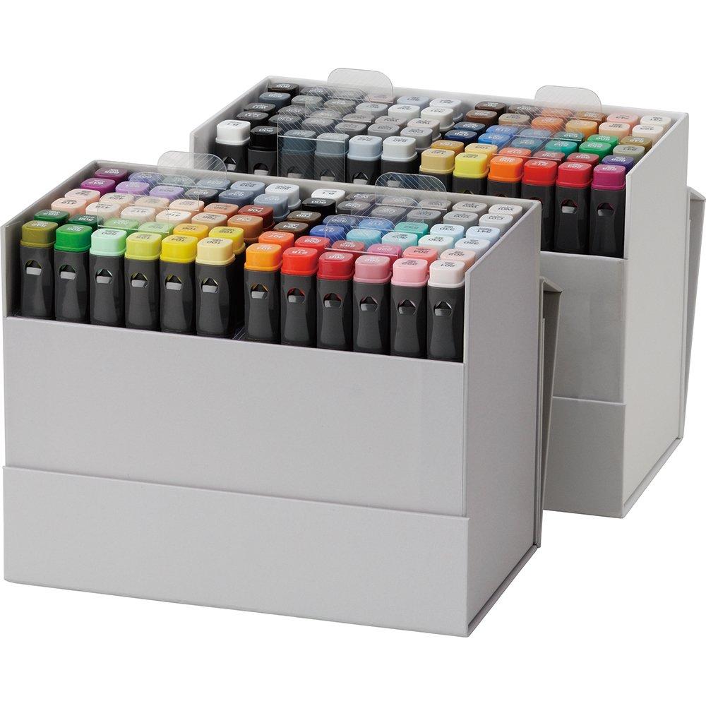 ZIG KURECOLOR TWIN WS 138 Colors pens set