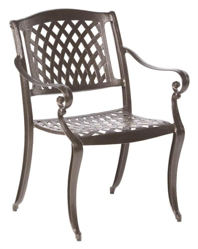 amazon com alfresco home 56 1302 westbury cast aluminum 6 seats