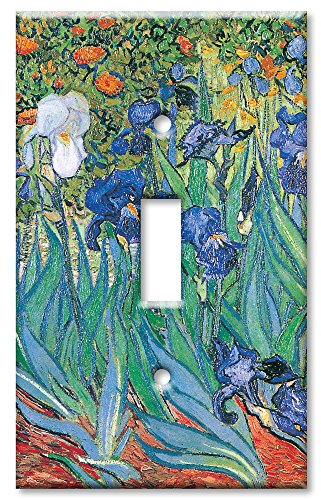 Art Plates - Van Gogh: Irises Switch Plate - Single Toggle