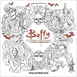 amazoncom buffy the vampire slayer adult coloring book 9781506702537 joss whedon books