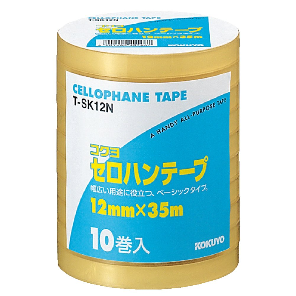 Kokuyo cellophane tape winding large industrial T-SK12N (japan import)