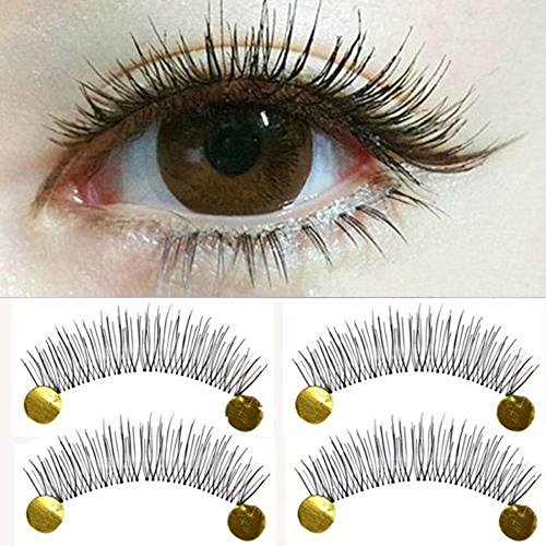 20 PCS Girls Manmade Makeup Artificial Natural Eyelashes Lengthen Eye EE (Hairspray Broadway Costumes)
