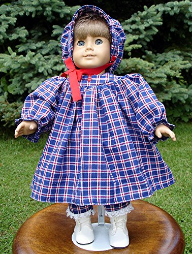 18 Inch Doll Clothes Red Turtleneck handmade by Jane Ellen to fit 18 inch dolls