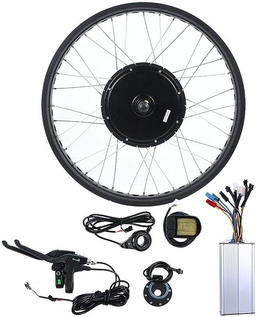 BTIHCEUOT Kit de Motor de Bicicleta eléctrica Conversión de Bicicleta eléctrica, Kit de conversión de Bicicleta eléctrica de Bicicleta de montaña con 48V 1000W Motor 700C Rueda LCD5 Metro(3#): Amazon.es: Hogar