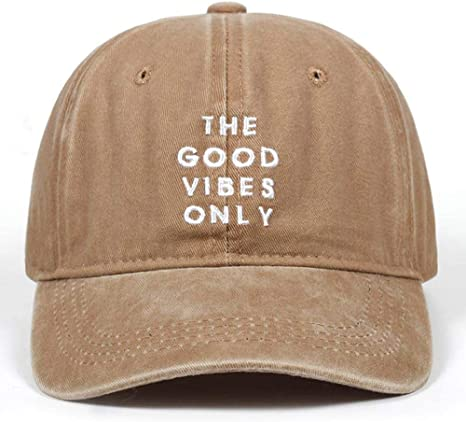 A-HXTM Gorras De Hombre Unisex Fashion Dad Hat The Good Vibes Solo ...