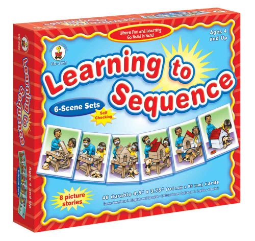 Learning To Sequence: 6-scene Sets
