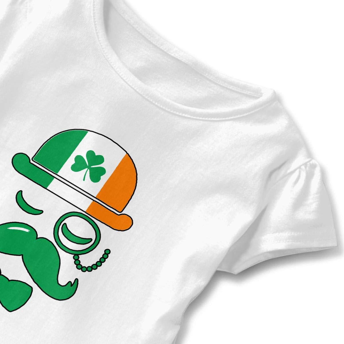 I Love Ireland Irish Shamrock Baby Skirts Adorable Kids T Shirt Dress Comfortable Flounces Outfits