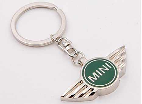 automotiva verde Mini Logo cromado estilo con Logo de la ...