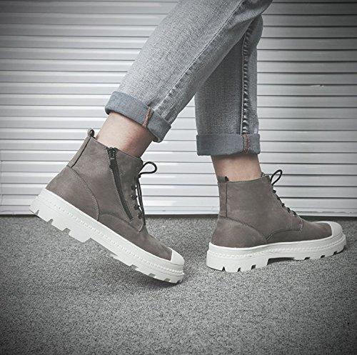 per Stivali scarpe All PYL Martin's uomini grigio di Match HL 38 Stivaletti Stivali alta Gli di PW8B0qSwY