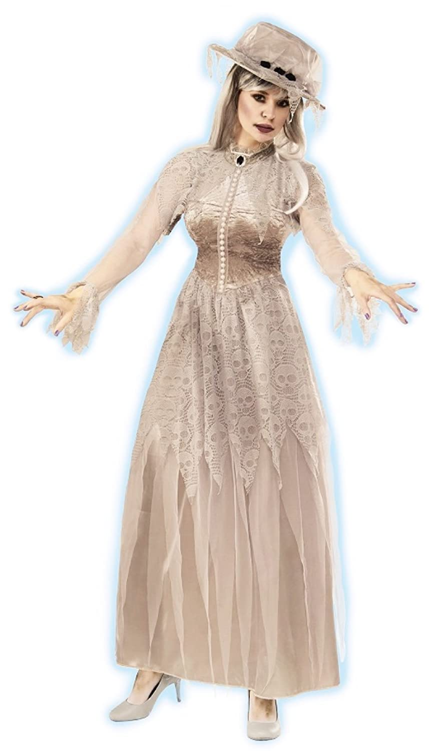 Victorian Costumes: Dresses, Saloon Girls, Southern Belle, Witch Victorian Ghost Costume $39.56 AT vintagedancer.com
