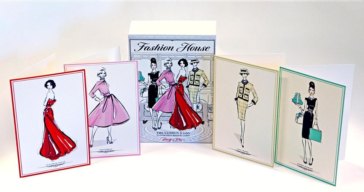 Fashion House: Illustrated Interiors from the Icons of Style: Megan Fashion house megan hess