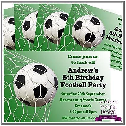 5 invitaciones de fiesta de cumpleaños personalizables para ...