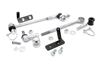 Amazon Rough Country 1128 Front Sway Bar Quick Disconnects For