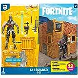 Figura de Ação Fortnite, Black Night com Kit de Construção, Sunny