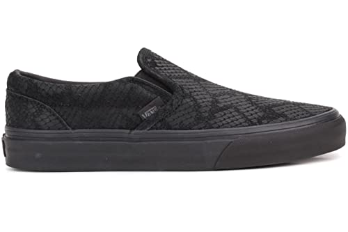 Vans Classic Slip-on DX - Zapatillas de Skateboarding de Piel Lisa para  Hombre Negro Reptile Black faa20c7835b