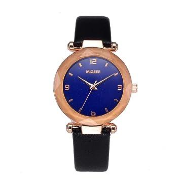 Amazon.com: RINKOUa - Reloj de pulsera para mujer, correa de ...