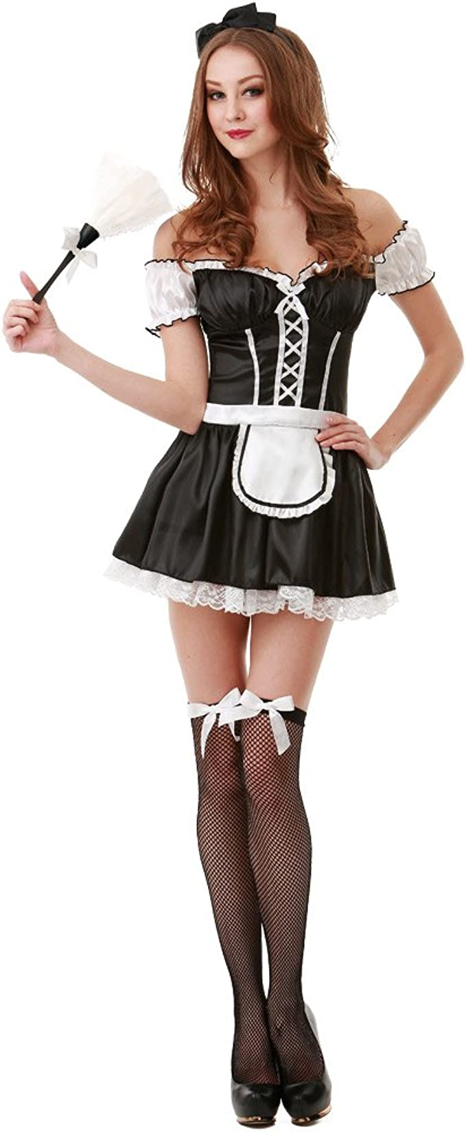 Amazon.com: French Maid Disfraz de Halloween para mujer ...