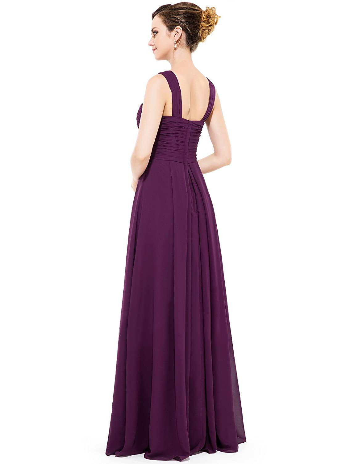 Loffy Women\'s Long Prom Evening Dress Gown Bridesmaid For Wedding at ...