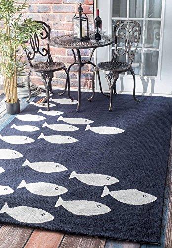 fish area rug - 5