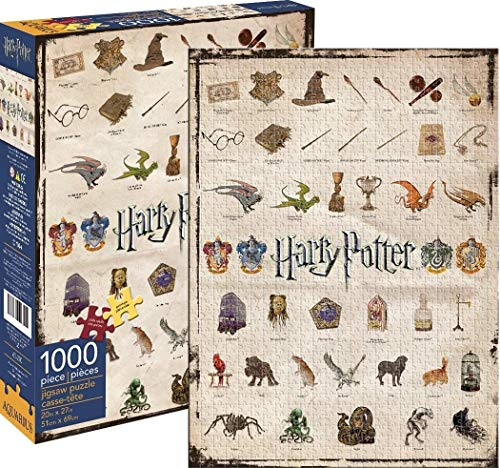 Aquarius Harry Potter Icons 1000 Piece Jigsaw Puzzle