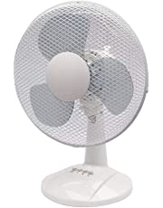 Q-Connect 300mm/12 inch Desktop Fan