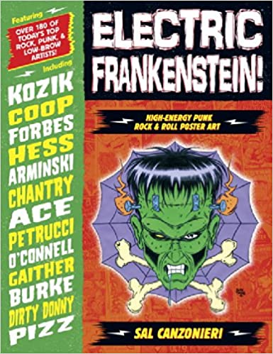 Download online Electric Frankenstein! High-Energy Punk Rock & Roll Poster Art PDF, azw (Kindle), ePub