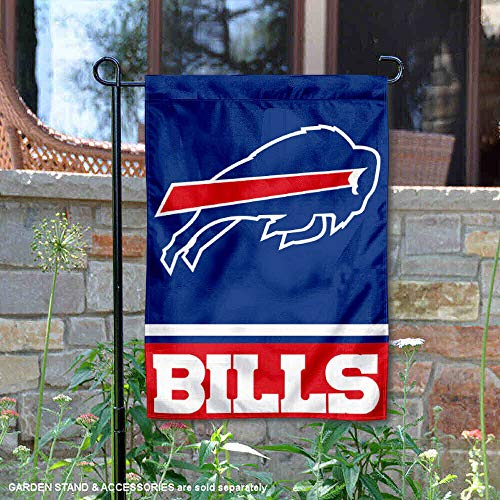 - WinCraft Buffalo Bills Double Sided Garden Flag