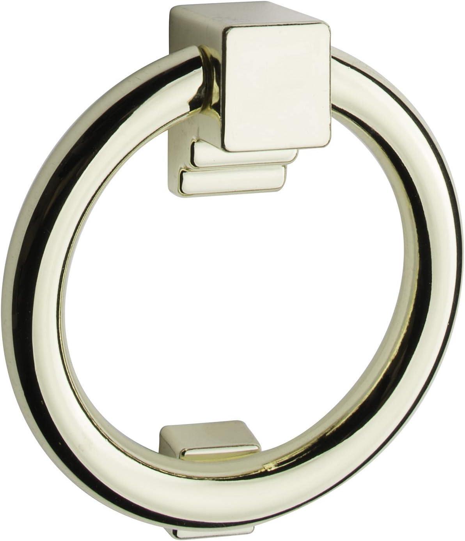Ring Door Knocker Matte Black