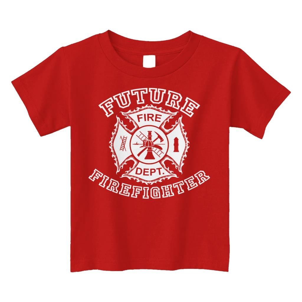 656aed683 Amazon.com: Threadrock Little Boys' Future Firefighter Toddler T-Shirt:  Novelty T Shirts: Clothing