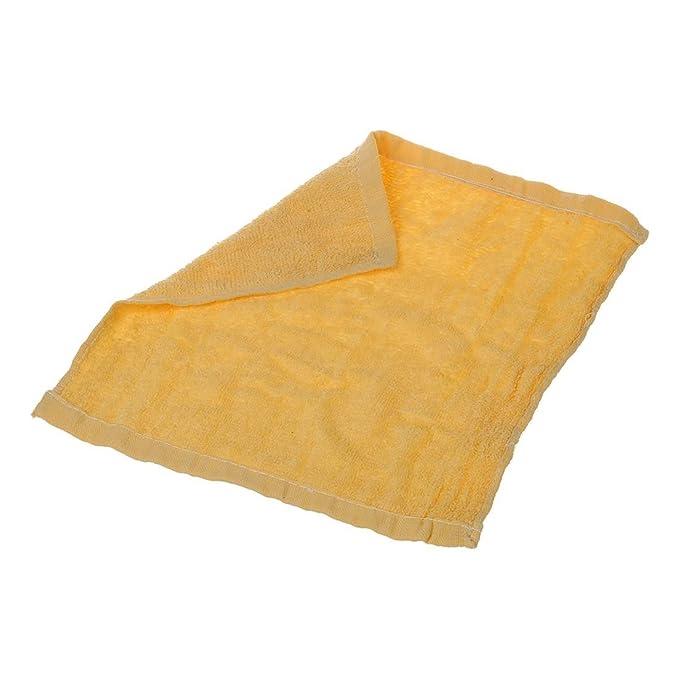 TOOGOO (R) Mini perro amarillo toalla en forma de suave Cara Dibujos de algodon: Amazon.es: Hogar